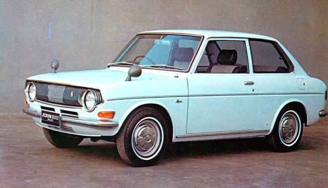 画像: トヨタパブリカ800/1000スタンダード(1970年)