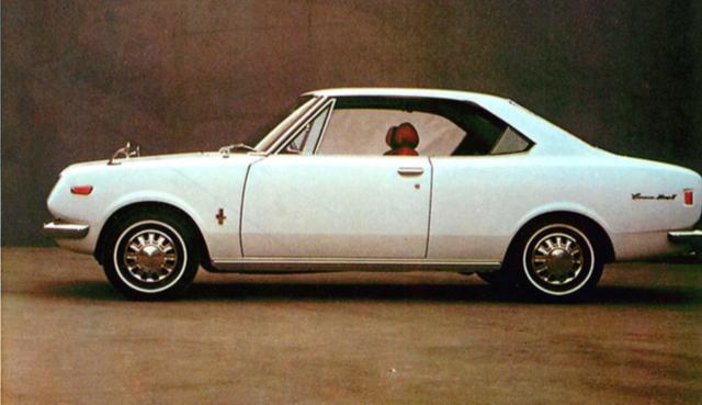 画像: トヨペットコロナマークⅡ1700ハードトップSL(1970年)