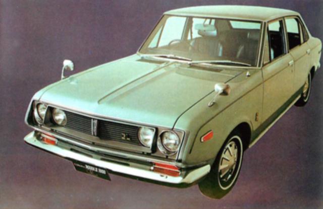 画像: トヨペットコロナマークⅡ1900GL/GSL(1970年)