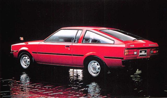 画像: カローラクーペ1500SR(1980年)