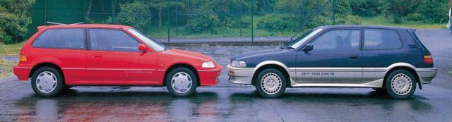 画像: 【名車の記憶 ホンダスポーツクロニクル】シビックは一般道でトヨタの4A-G勢と対決!!2台の異なる走りの性格に注目しました。