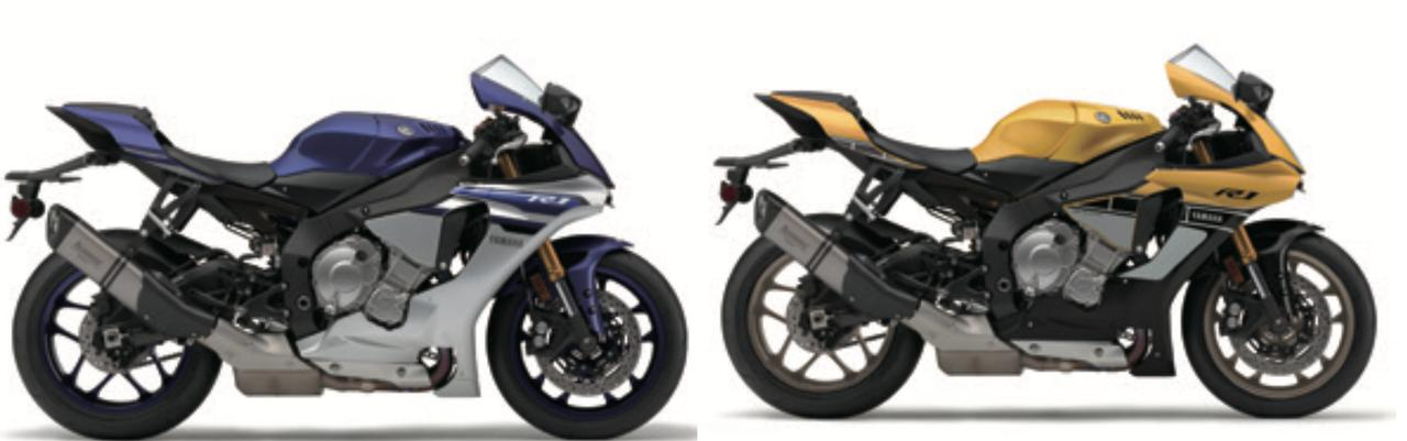 画像: 新色がでたね【YAMAHA YZF-R1】 オートバイ 2016年5月号 別冊付録(第82巻第9号) 2016国産車総図鑑より
