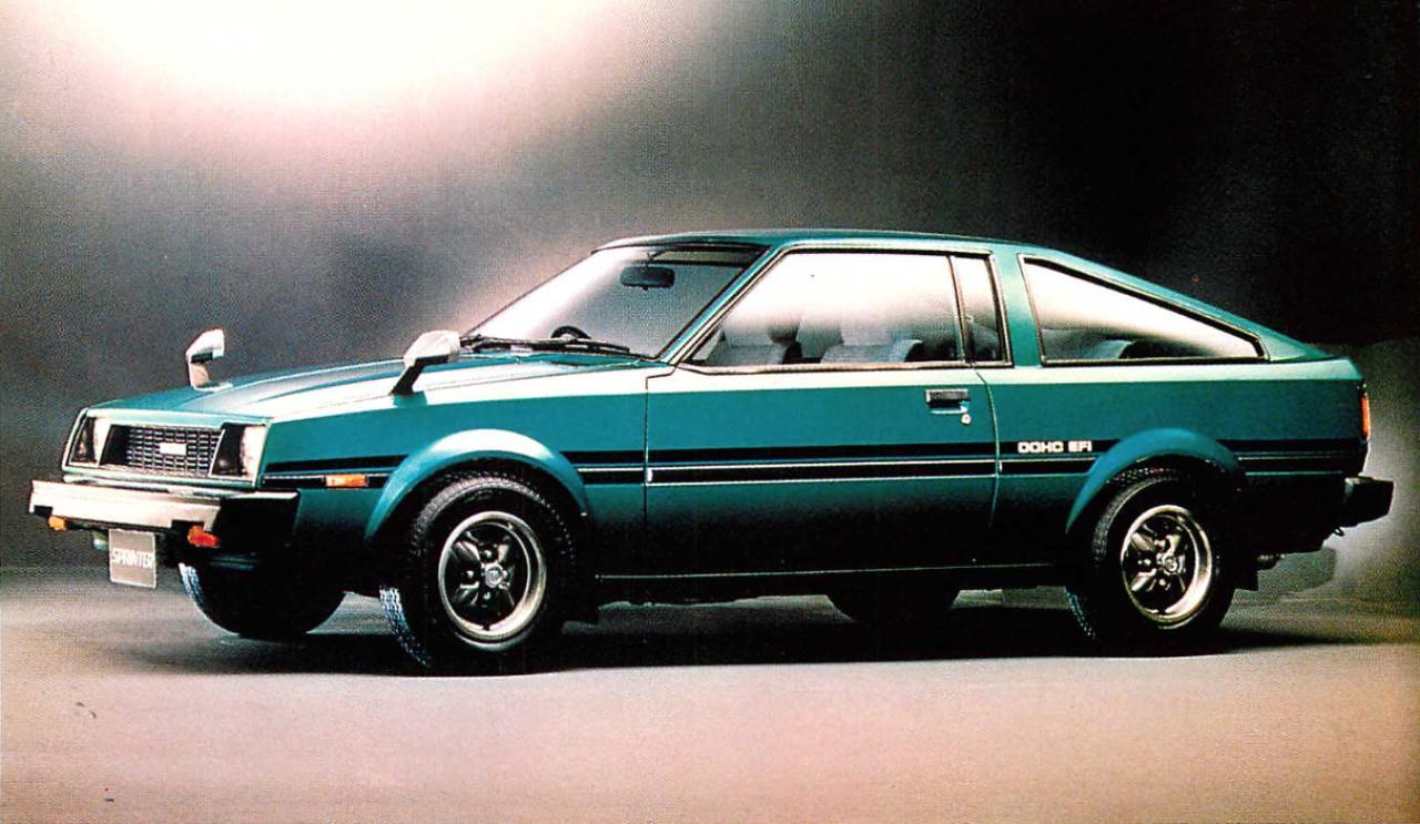 画像4: 【日本の自動車年鑑】 第84回 「スプリンターシリーズ」(1980年)
