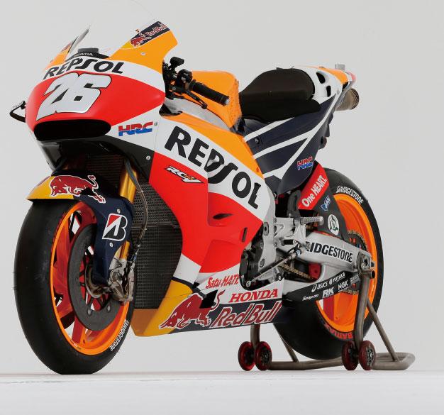 画像: #26 ダニ・ペドロサ車(Racing オートバイ MotoGP GRAPHICS 2016@モーターマガジン社) www.motormagazine.co.jp