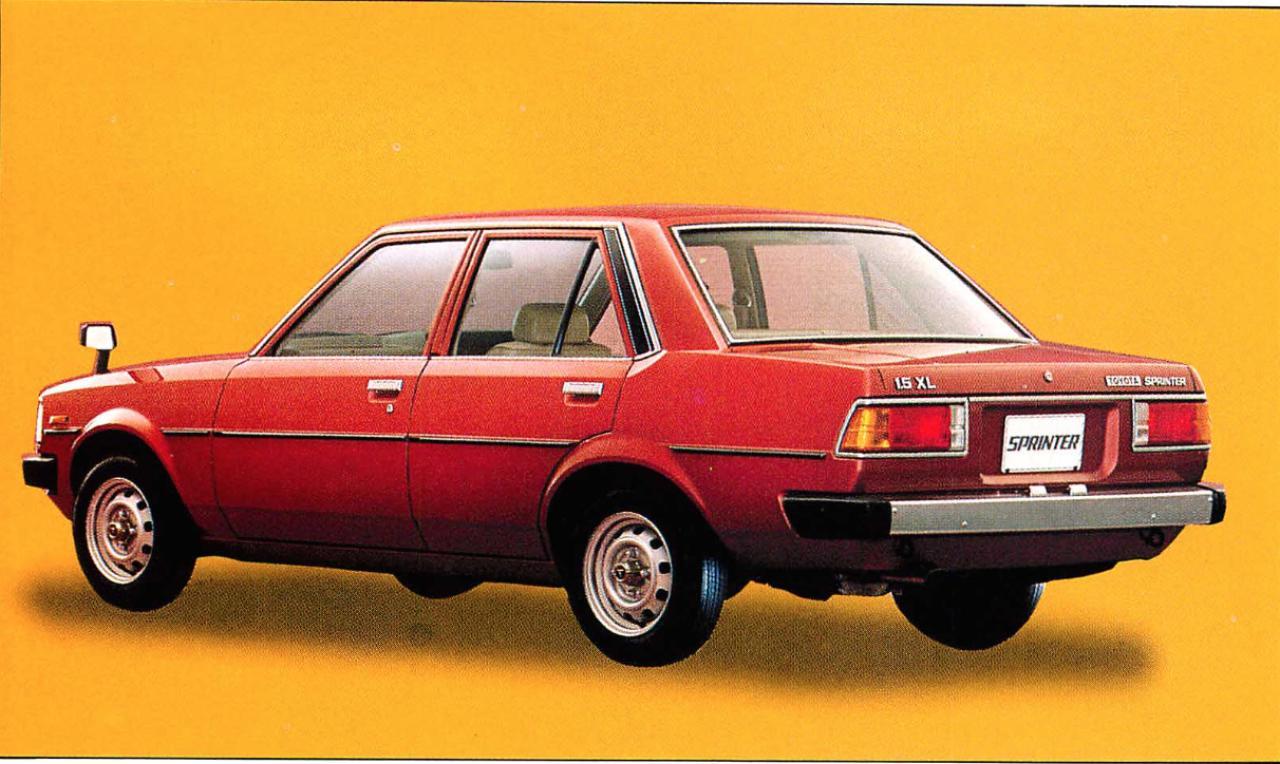 画像: スプリンター4ドア1500XL(1980年)