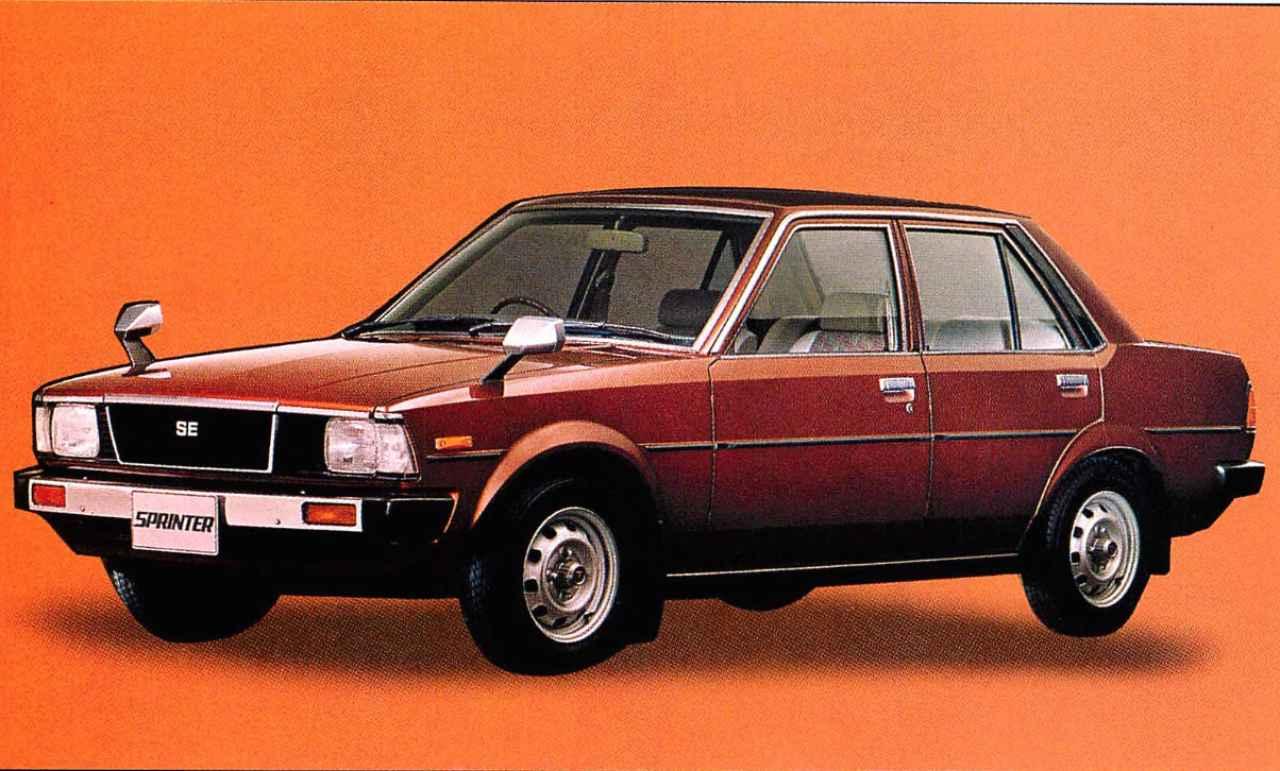 画像2: 【日本の自動車年鑑】 第84回 「スプリンターシリーズ」(1980年)