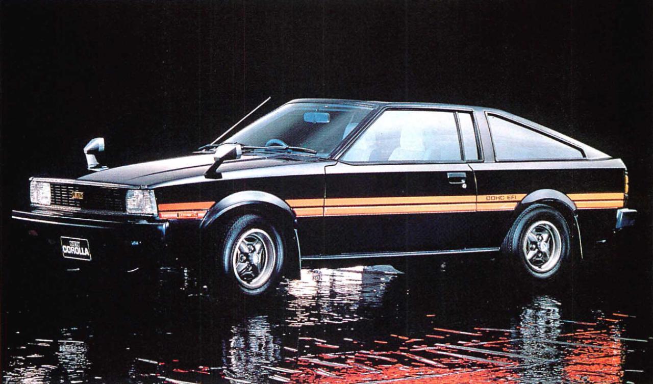 画像: カローラクーペ1600レビン(1980年)