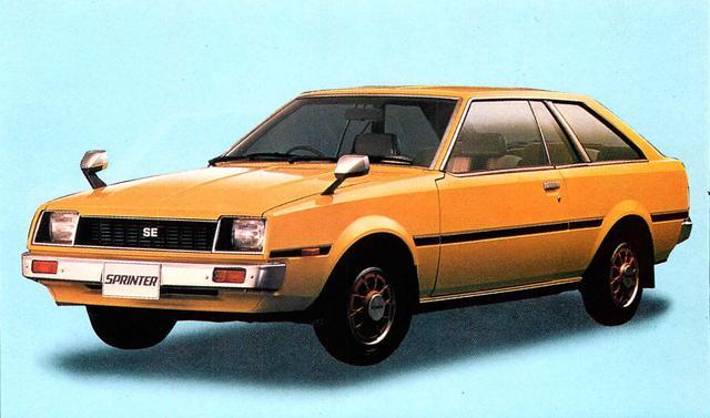 画像5: 【日本の自動車年鑑】 第84回 「スプリンターシリーズ」(1980年)