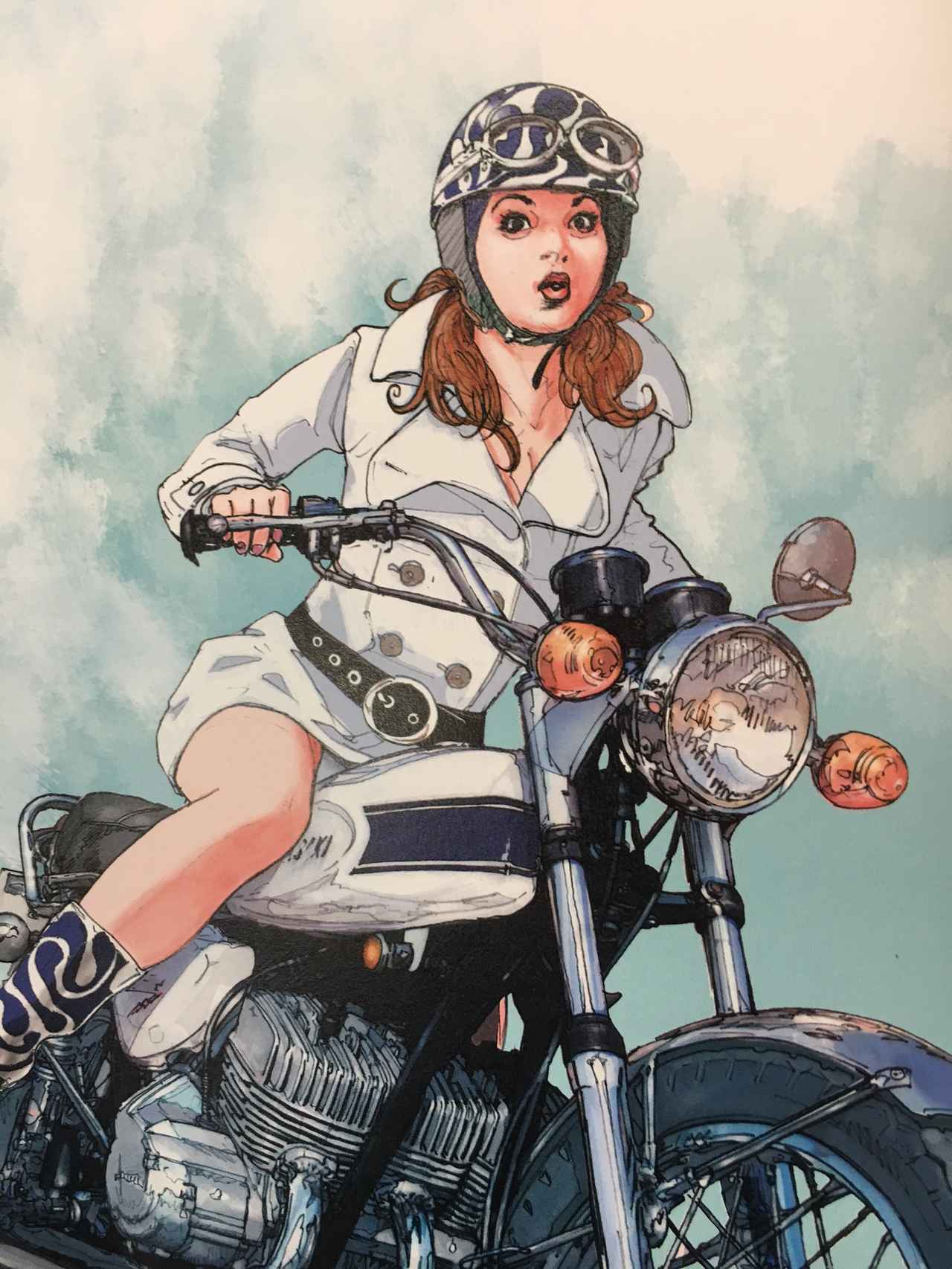 画像6: お好みの美女を探せ!バイク美女に誘われたらどの美女についていく???