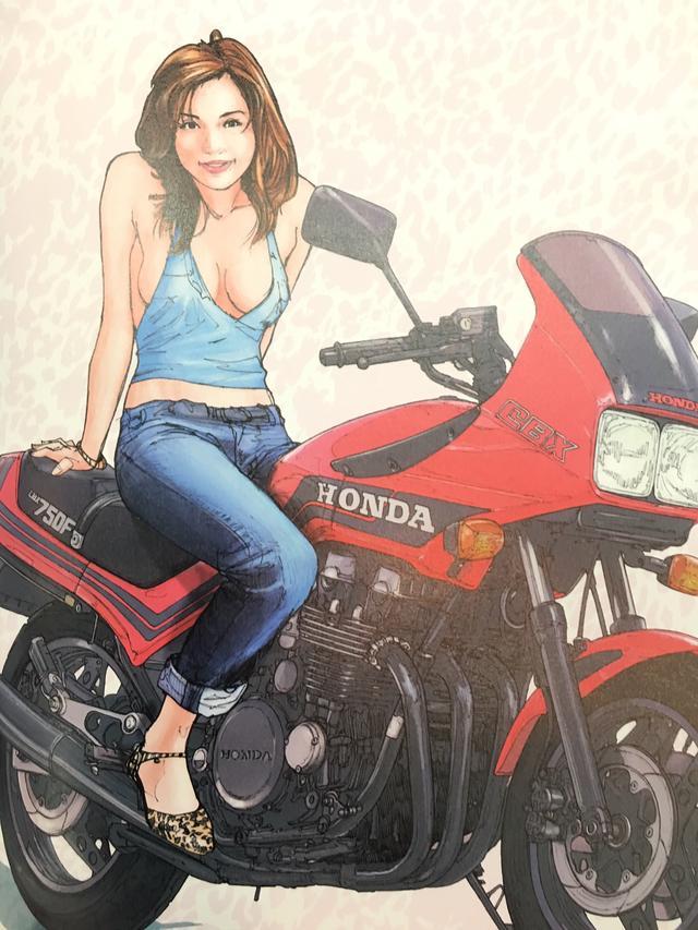 画像1: お好みの美女を探せ!バイク美女に誘われたらどの美女についていく???
