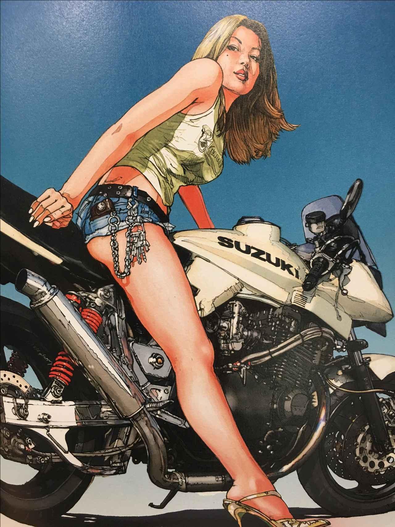 画像8: お好みの美女を探せ!バイク美女に誘われたらどの美女についていく???