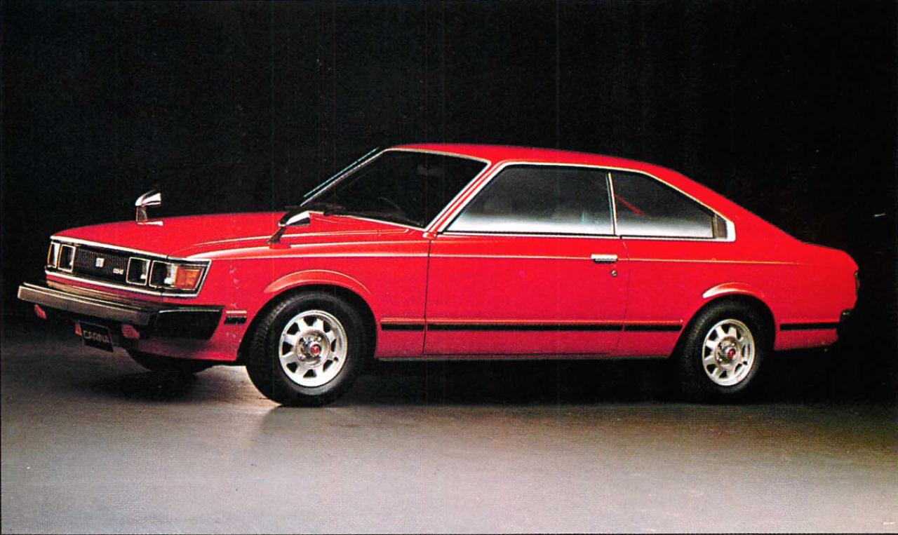 画像5: 【日本の自動車年鑑】 第86回 「カリーナシリーズ」(1980年)