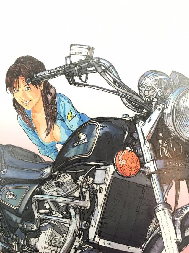 画像4: お好みの美女を探せ!バイク美女に誘われたらどの美女についていく???