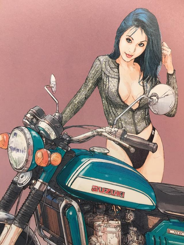 画像5: お好みの美女を探せ!バイク美女に誘われたらどの美女についていく???