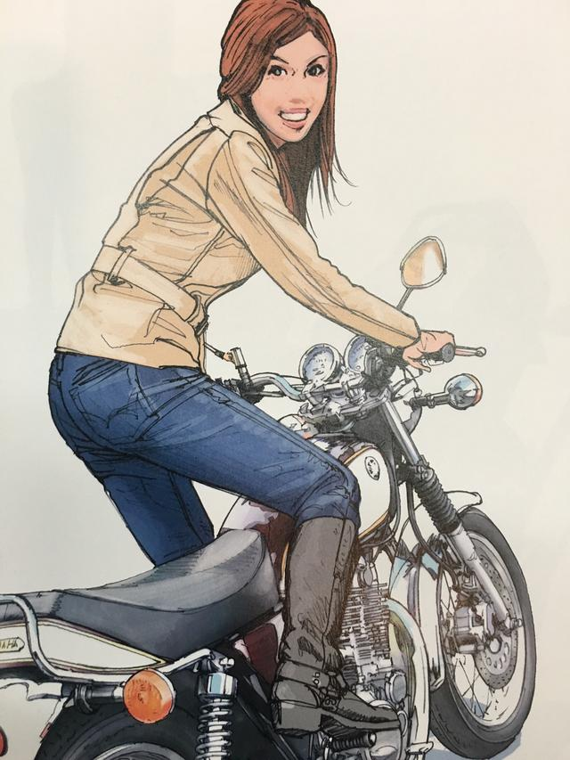 画像3: お好みの美女を探せ!バイク美女に誘われたらどの美女についていく???