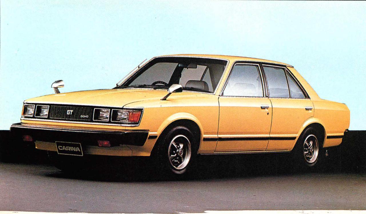 画像3: 【日本の自動車年鑑】 第86回 「カリーナシリーズ」(1980年)