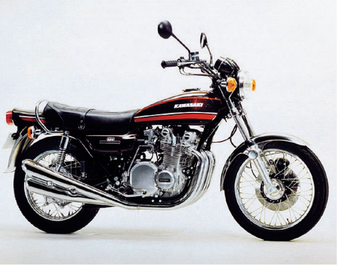 画像: 900スーパー4【Z1A】1974 www.motormagazine.co.jp