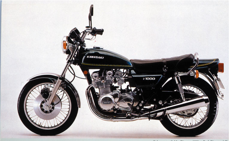 画像: Z900Four [Z900A4] 1976 www.motormagazine.co.jp