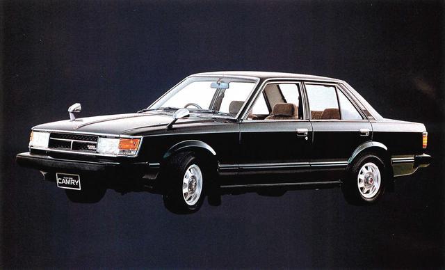 画像1: セリカカムリ1800XT(1980年)