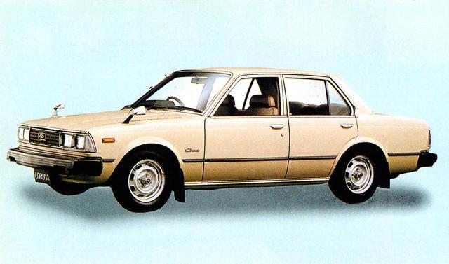 画像: コロナ4ドア1800SL(1980年)
