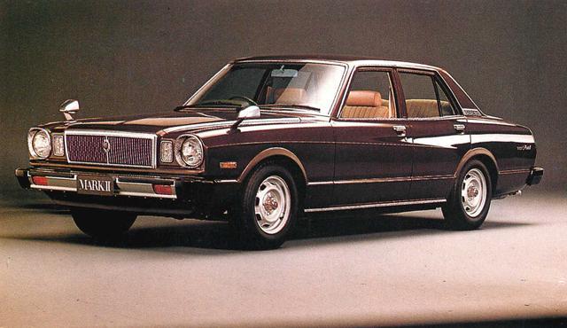 画像: マークⅡ4ドア2000GL(1980年)