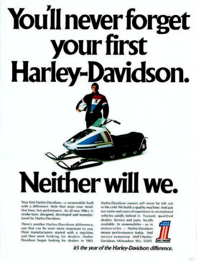 画像: ハーレーダビッドソンの名を冠するモノでもかなりレアなスノーモビル。完全な形で現存する車両はアメリカ本国でもごくわずかです。/©モーターマガジン社