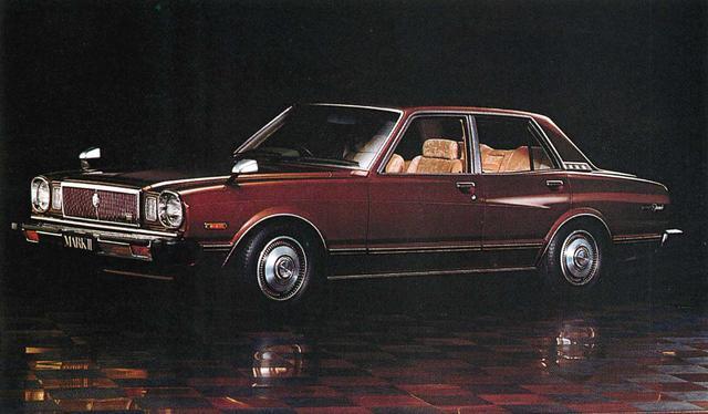画像: マークⅡ4ドア2600グランデ(1980年)