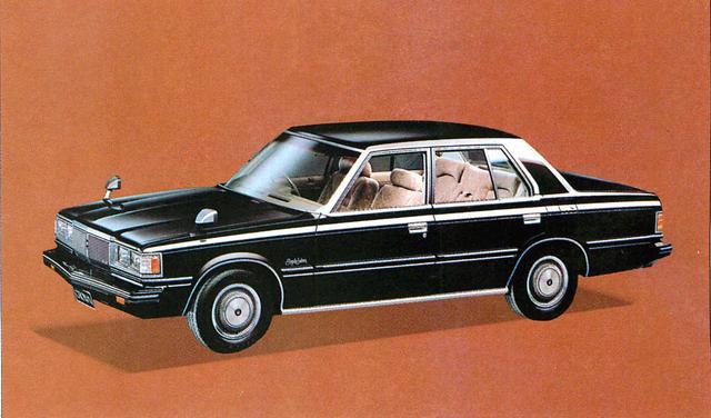 画像: クラウン4ドア2800スパーサルーン(1980年)