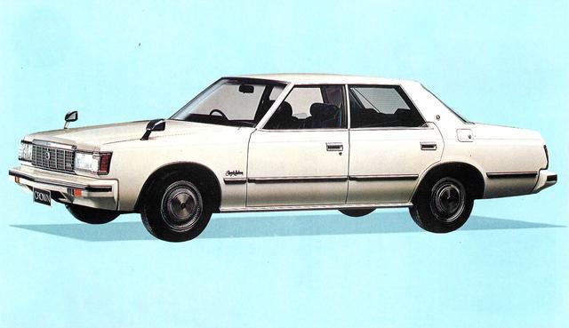 画像1: クラウン4ドアHT2800ロイヤルサルーン(1980年)