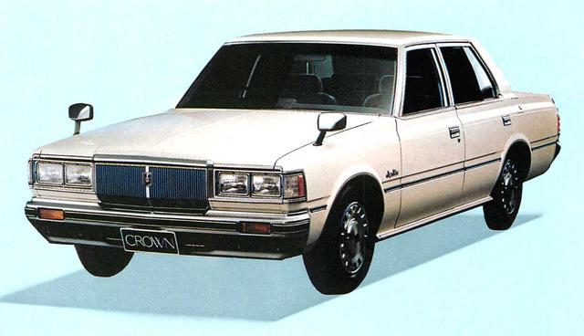 画像: クラウン4ドア2000スーパーサルーン(1980年)