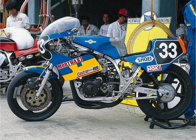 画像: 1000ccによるTTF1の最後の年となる83年のモ リワキモンスター(オートバイ Classics@モーターマガジン社) www.motormagazine.co.jp
