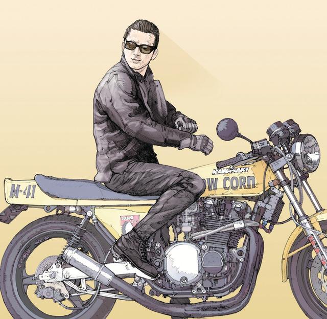 画像: 「 極端な話ですが、僕にとって日本のバイクっていえばZなんです。 Zが終わったらニンジャですね、 Zが終わったらカタナですねという話もありますが、個人的にZが終わってもZなんですよ、他のものとは代えられない。」(杉田氏談)