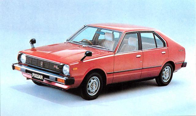 画像: パルサー5ドアHB1400TS-G(1980年)