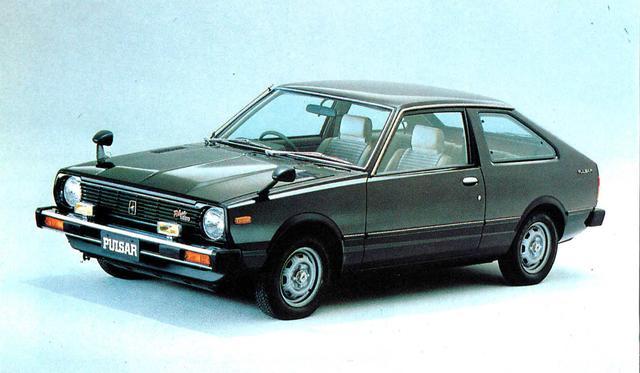 画像: パルサー3ドアHB1400TS-XE(1980年)