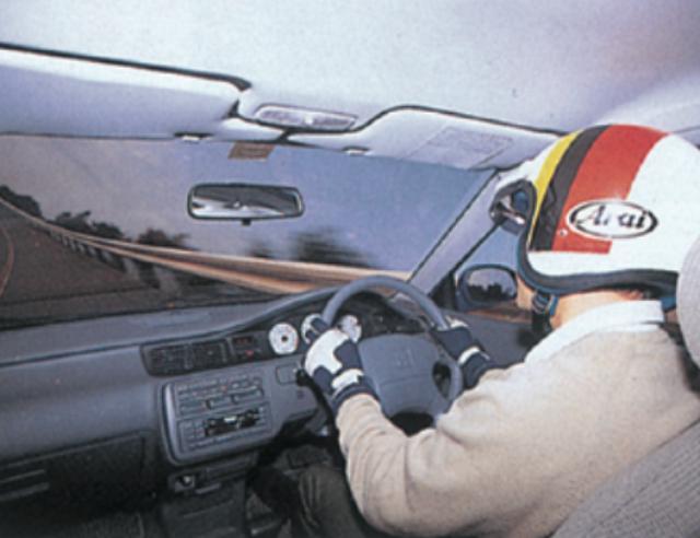 画像: 【シビックSiRⅡ】●ホワイトメーターの視認性は非常によい。高速になるほど安定感を増す走りはワンランク上だった。 www.motormagazine.co.jp