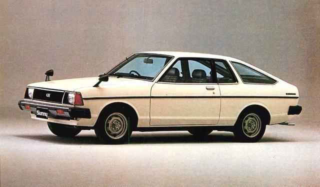 画像: サニークーペ1400GX(1980年)