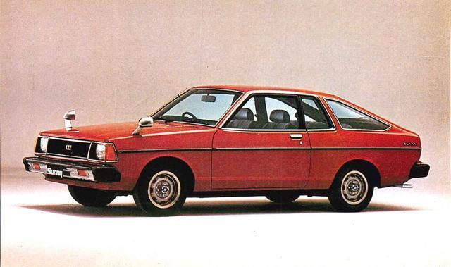画像: サニークーペ1400SGX-E(1980年)