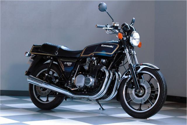 画像: Z1000Mk.Ⅱ(オートバイ Classics@モーターマガジン社) www.motormagazine.co.jp