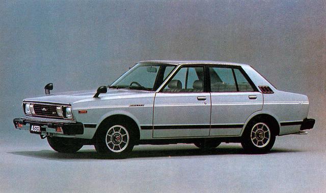 画像: オースター4ドア1800GT-E(1980年)