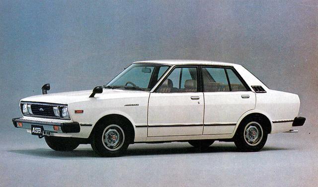 画像: オースター4ドア1600CS-L(1980年)