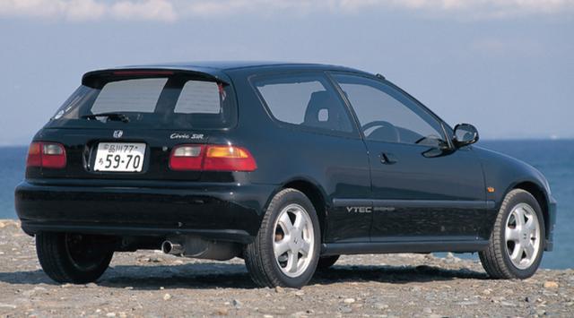 画像1: スポーツシビック ・EG6型(1991年9月〜)