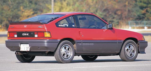 画像: CR-Xバラードスポーツ ・AS型(1983年7月〜)