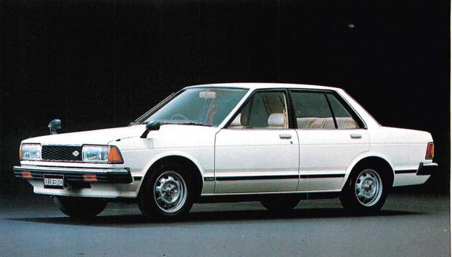 画像: ブルーバード4ドア1800SSS(1980年)