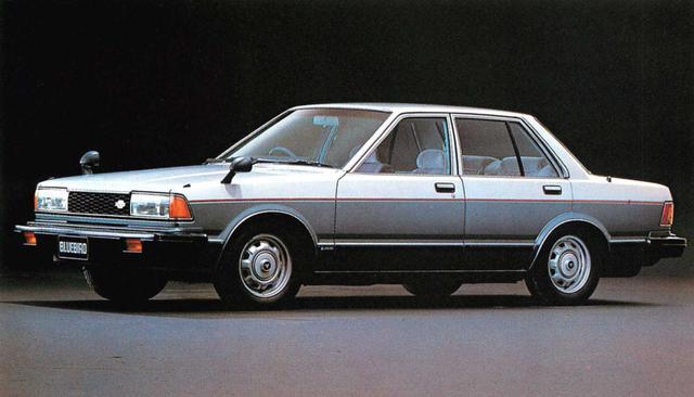 画像7: 【日本の自動車年鑑】 第106回 「ブルーバードシリーズ」(1980年)
