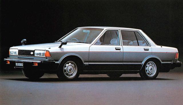 画像: ブルーバード4ドア2000SSS-EXG(1980年)