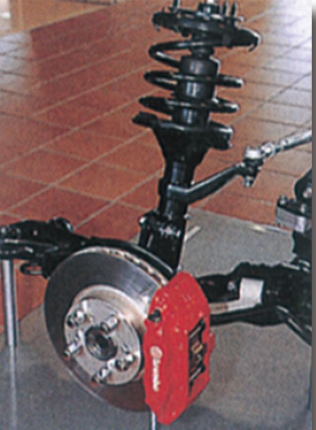 画像1: ブレンボ社製ブレーキ をホンダとしては初採用!
