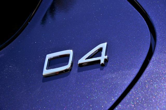 画像: ディーゼルエンジン搭載車は「D4」グレード。