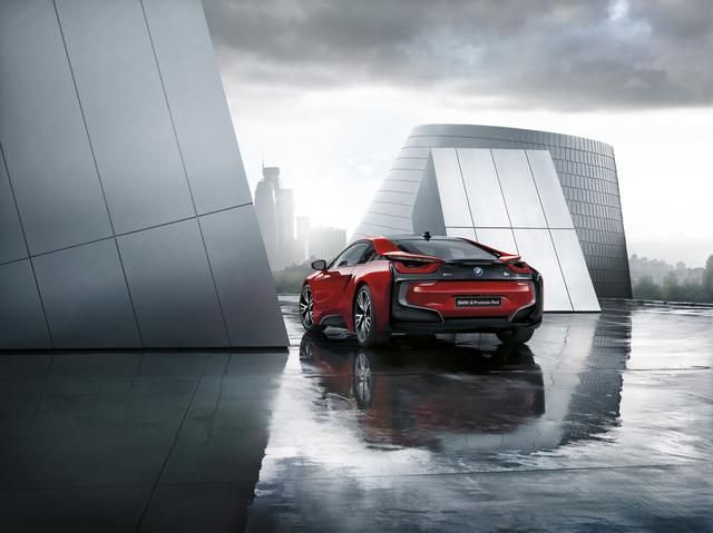 画像: BMW i8は2014年9月に発売されたプラグインハイブリッド車である。