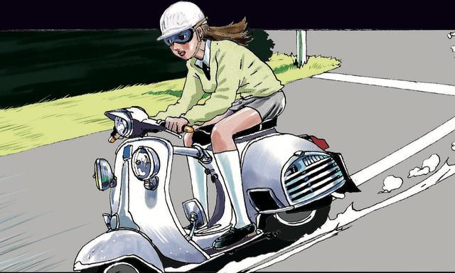 画像: クラシックベスパに乗る女子に見惚れたい。 - LAWRENCE - Motorcycle x Cars + α = Your Life.