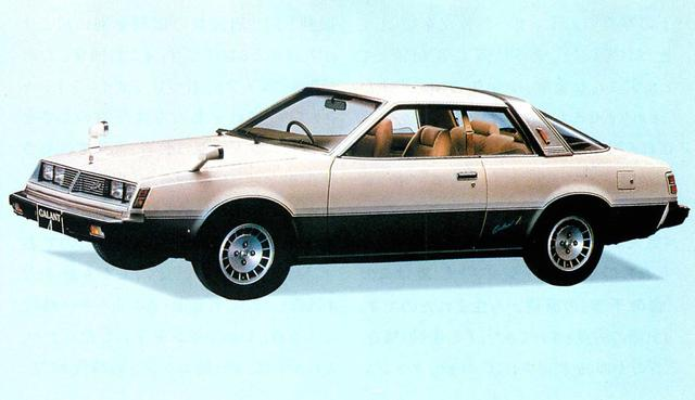 画像: ギャランΛ2600スーパーツーリング(1980年)